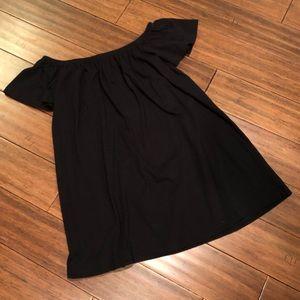 ASOS off shoulder 100% cotton dress/coverup size 8